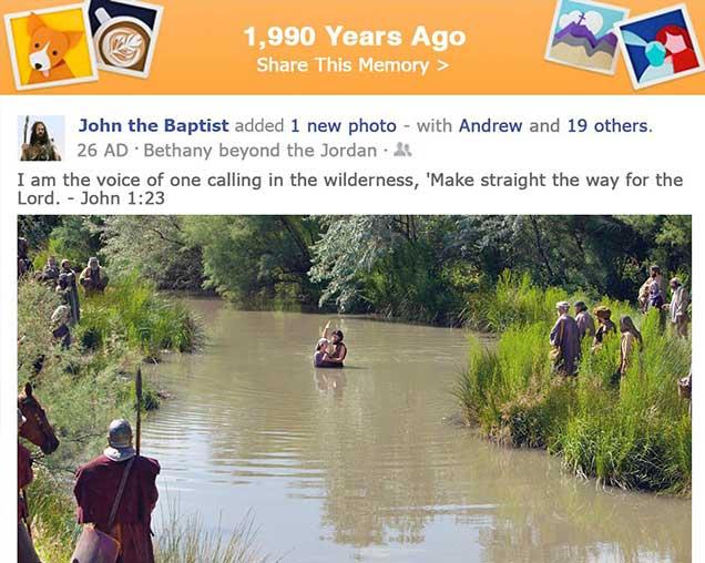Bible Memories: John The Baptist