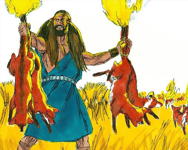Why Did Samson Catch 300 Foxes?