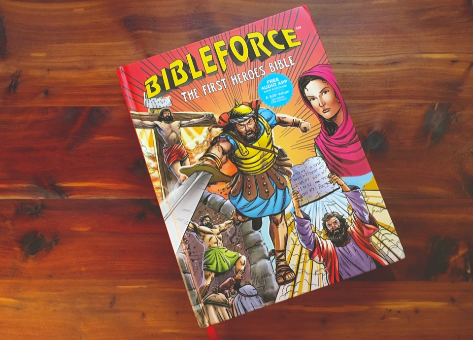 BibleForce The First Heroes Bible