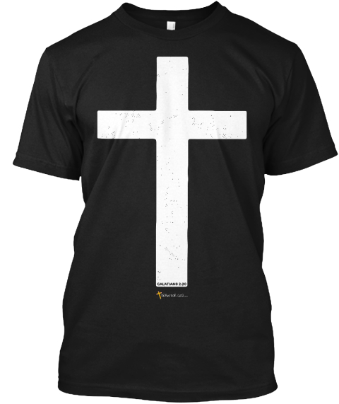 Christian Tshirt Crucified With Christ