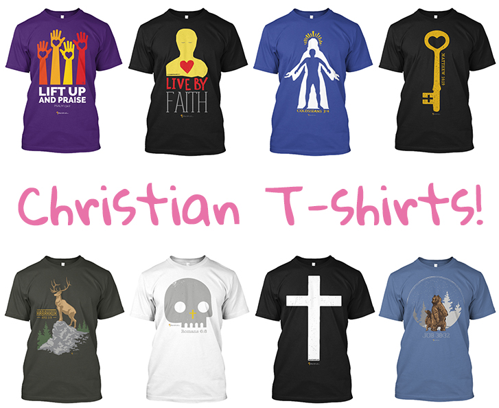 Christian T-shirts Are Here!