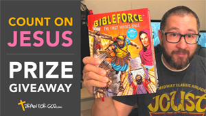 Count On Jesus Prize Giveaway