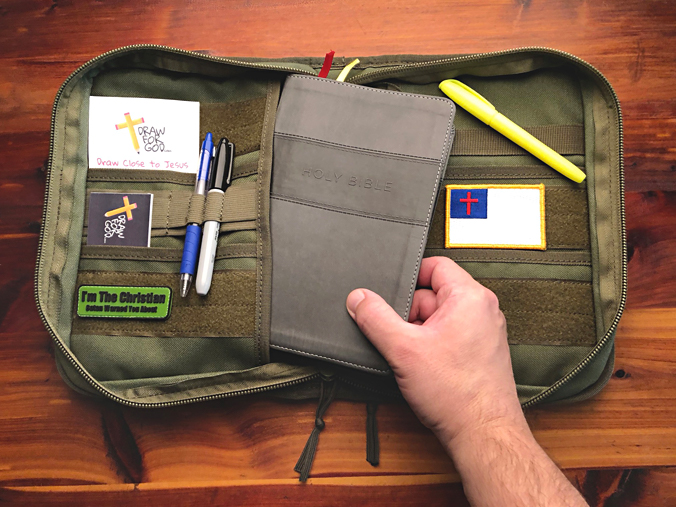 Military Style Bible Cover And Organizer Review (Righteous Grunt)