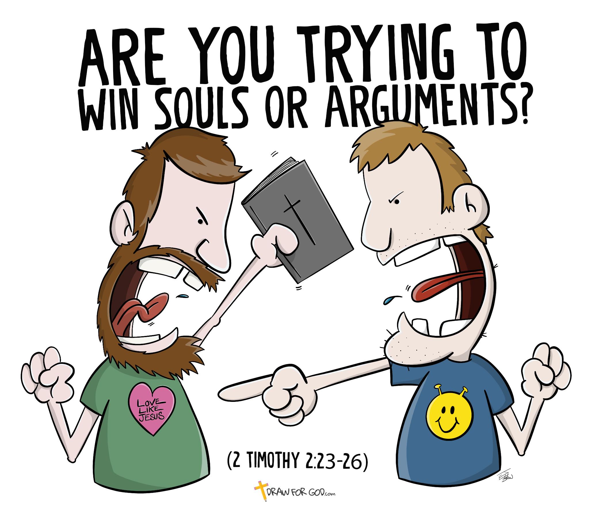 Christian Cartoon